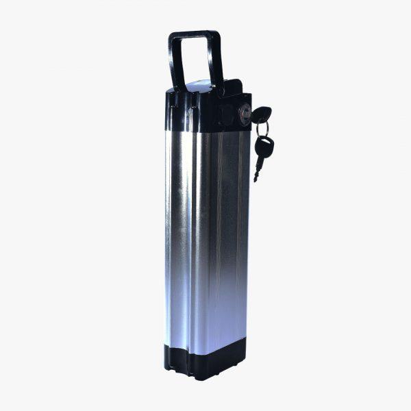 Aki 24V10Ah Baterai Lithium Ion Sepeda Listrik Selis Box dan Kunci